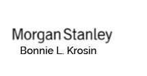 Bonnie Krosin - Morgan Stanley